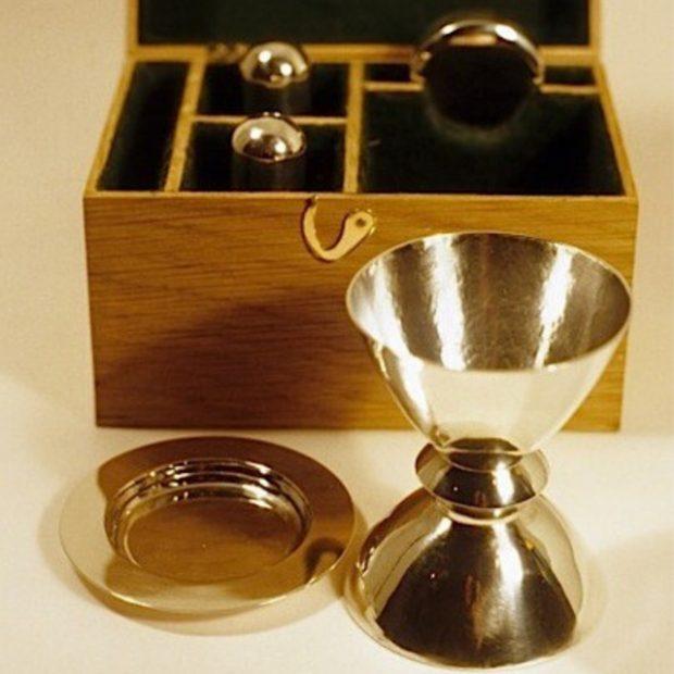 Travelling communion set