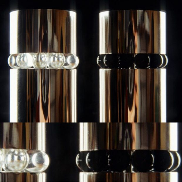 Salt and pepper grinder (with closeup)